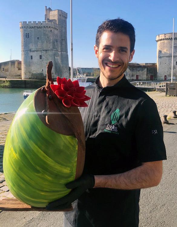 Thomas Pontacq à La Rochelle - Criollos Chocolatier